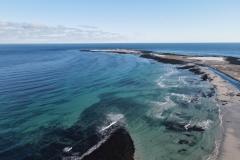 Scuthvie Bay and Sanday Lighthouse