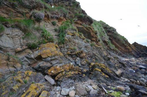 Bent Rocks formations