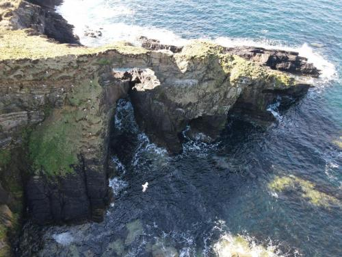 Arch on the west side of Sanday